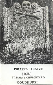 Pirate's Grave postard