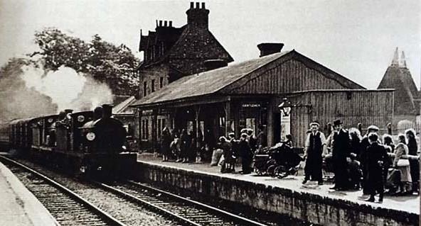 Paddock Wood Line. Cranbrook Railway Station Photo Goudhurst Hawkhurst 18
