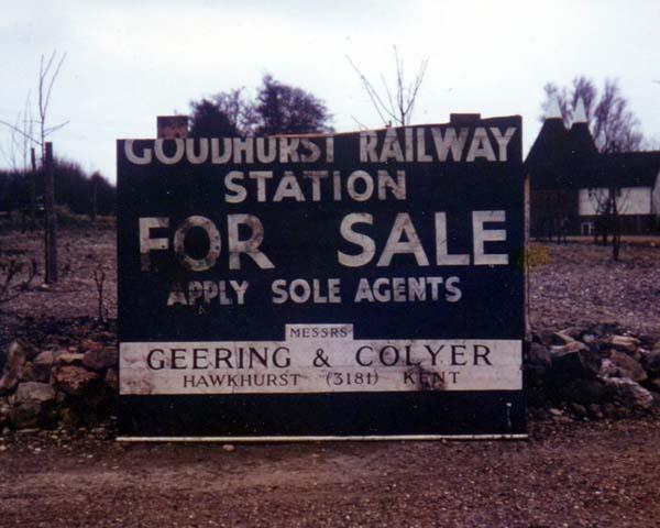 Hawkhurst 5 Cranbrook Railway Station Photo Paddock Wood Line. Goudhurst